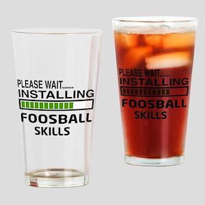 Please wait, Installing Foosball Sk Drinking Glass