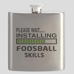 Please wait, Installing Foosball Skills Flask