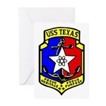 USS Texas (CGN 39) Greeting Cards (Pk of 10)