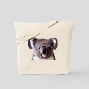 Large Happy Koala Bear Smiling Tote Bag