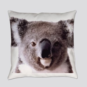 Large Happy Koala Bear Smiling Everyday Pillow