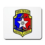 USS Texas (CGN 39) Mousepad