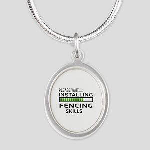 Please wait, Installing Fenci Silver Oval Necklace