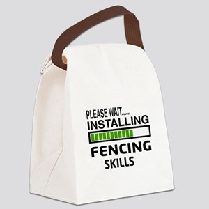 Please wait, Installing Fencing S Canvas Lunch Bag