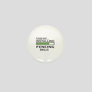 Please wait, Installing Fencing Skills Mini Button