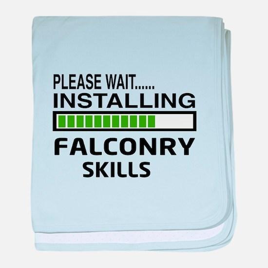 Please wait, Installing Falconry Skil baby blanket