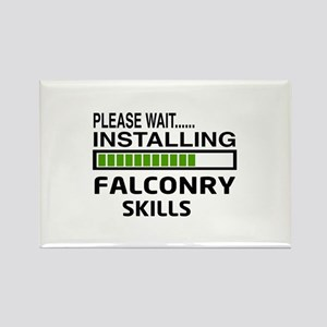 Please wait, Installing Falconry Rectangle Magnet