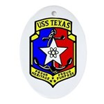 USS Texas (CGN 39) Oval Ornament