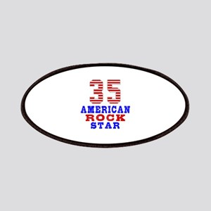 35 American Rock Star Patch