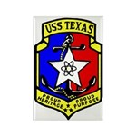 USS Texas (CGN 39) Rectangle Magnet (10 pack)
