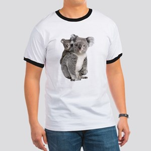 Large Koala Mom with baby Koala T-Shirt