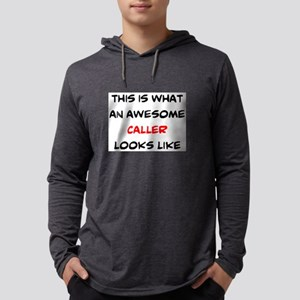awesome caller Mens Hooded Shirt