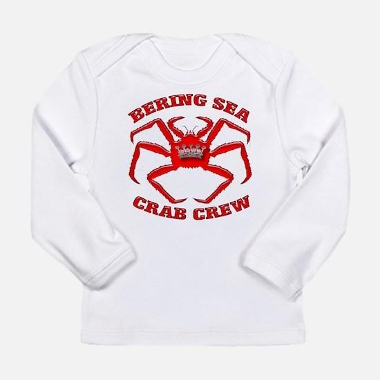 BERING SEA CRAB CREW Long Sleeve T-Shirt