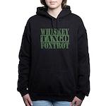 Whiskey Tango Foxtrot Women's Hooded Sweatshirt