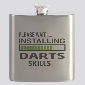 Please wait, Installing Darts Skills Flask