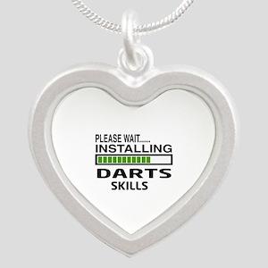 Please wait, Installing Dart Silver Heart Necklace