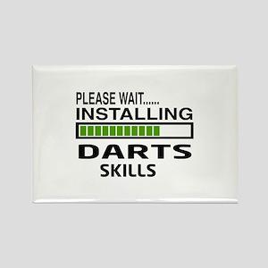 Please wait, Installing Darts Ski Rectangle Magnet