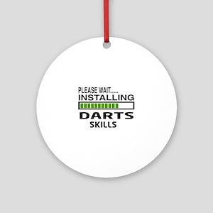 Please wait, Installing Darts Skill Round Ornament