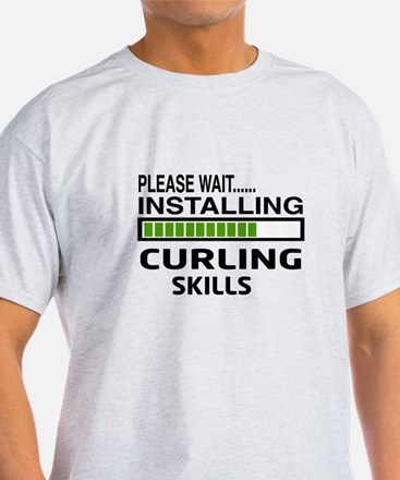 Please wait, Installing Curling Skil T-Shirt
