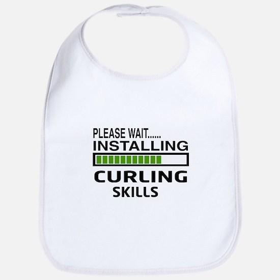 Please wait, Installing Curling Skills Bib