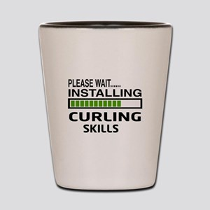 Please wait, Installing Curling Skills Shot Glass