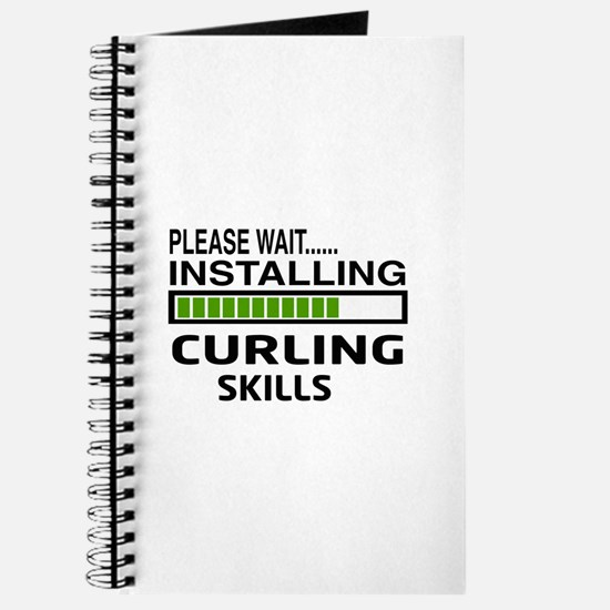 Please wait, Installing Curling Skills Journal