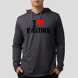 I Love Writing Long Sleeve T-Shirt