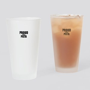 Proud to be PEETA Drinking Glass