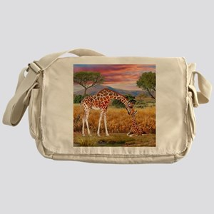 Tall Love From Above Messenger Bag