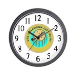USS Oklahoma City (CL 91) Wall Clock