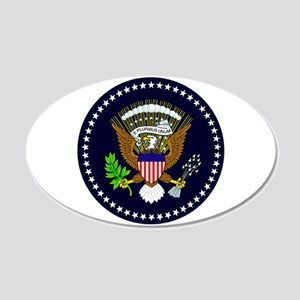 American Eagle 35x21 Oval Wall Decal