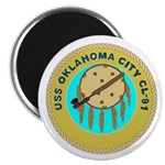 USS Oklahoma City (CL 91) Magnet