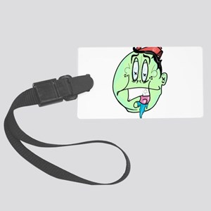 Lit face Large Luggage Tag
