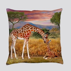 Tall Love From Above Everyday Pillow