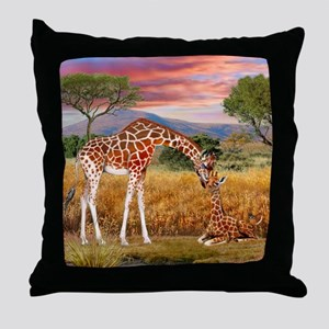 Tall Love From Above Throw Pillow