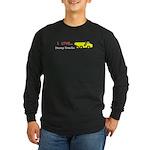 I Love Dump Trucks Long Sleeve Dark T-Shirt