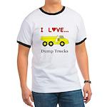 I Love Dump Trucks Ringer T