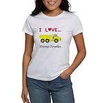 I Love Dump Trucks Women's T-Shirt