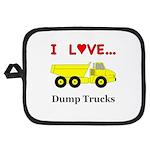 I Love Dump Trucks Potholder