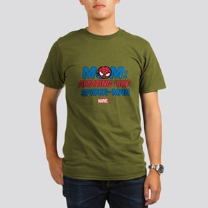 Amazing Mom Organic Men's T-Shirt (dark)