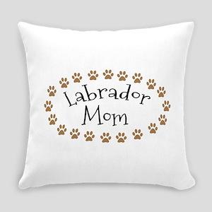 Labrador Mom Everyday Pillow