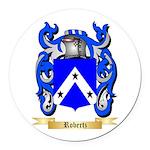 Robertz Round Car Magnet