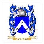 Robertsson Square Car Magnet 3