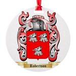 Robertson Round Ornament