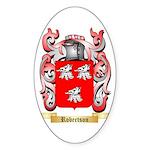 Robertson Sticker (Oval)