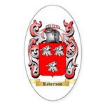 Robertson Sticker (Oval 50 pk)