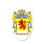 Roberts (Wales) Oval Car Magnet