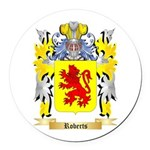 Roberts (Wales) Round Car Magnet