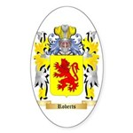 Roberts (Wales) Sticker (Oval)