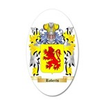 Roberts (Wales) 35x21 Oval Wall Decal